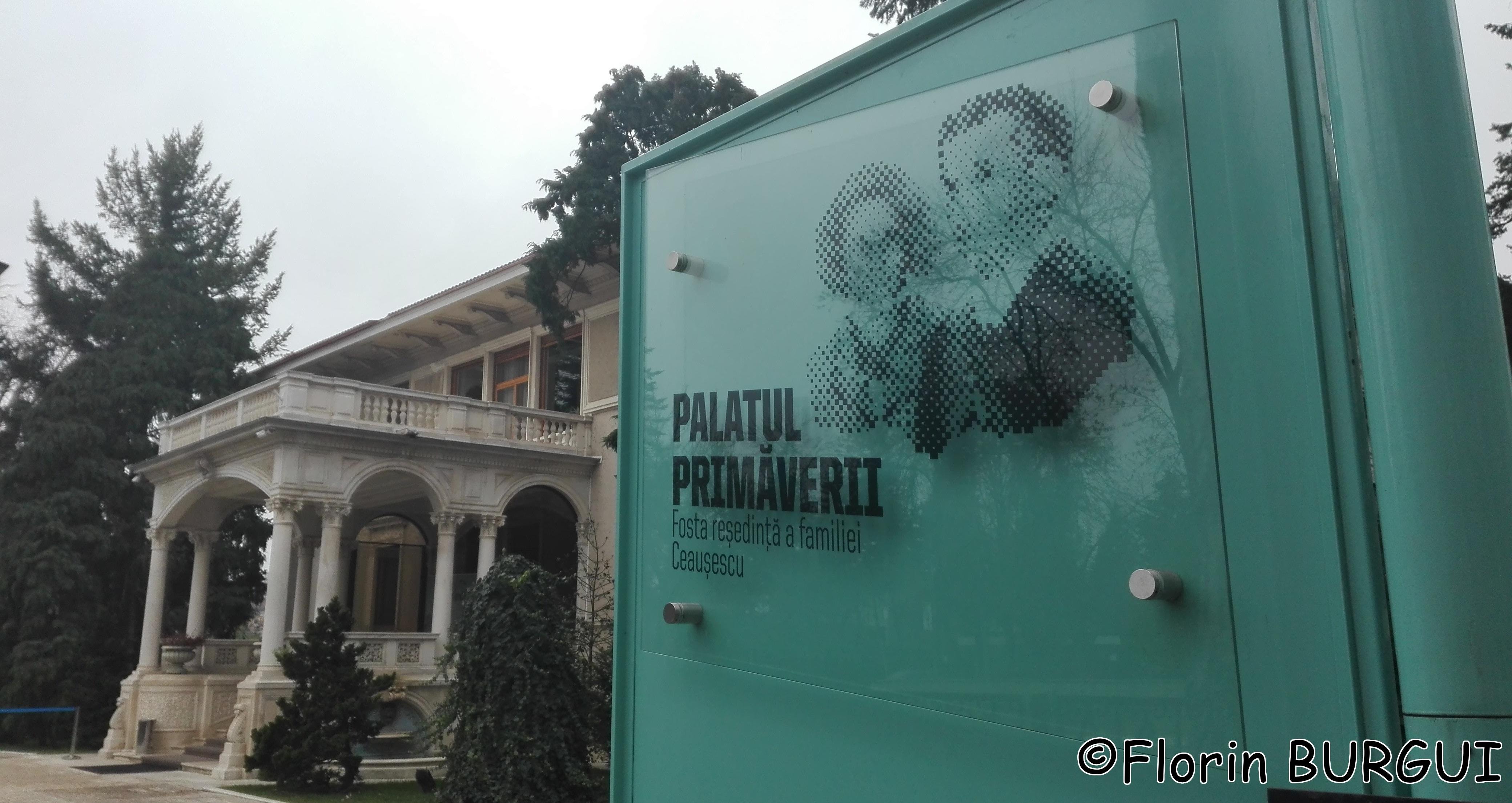 Palatul Primăverii – reședința familiei Ceaușescu
