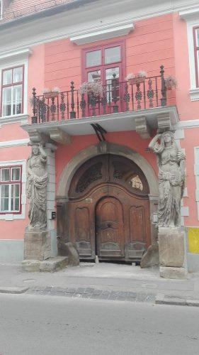 Casa cu Cariatide Sibiu