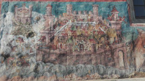 Moldovita - asediul Constantinopolului